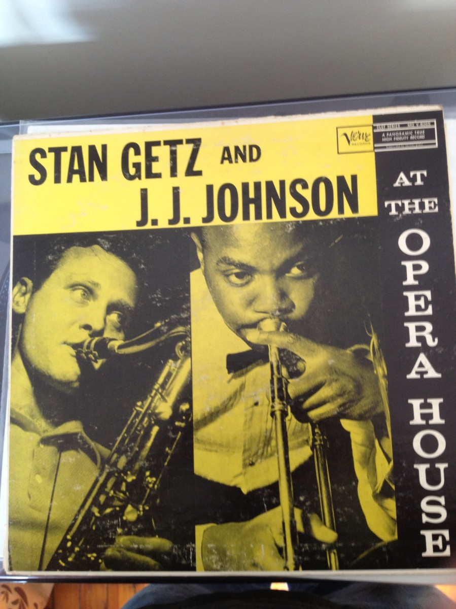Stan Getz And J J Johnson At The Opera House 1957
